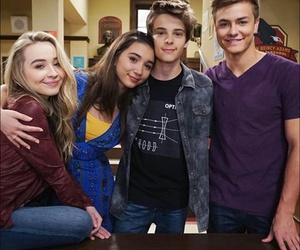 sabrina carpenter, rowan blanchard, and corey fogelmanis image