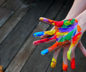 colors, hands, and cores image