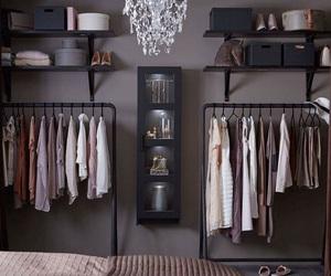 wardrobe, bedroom, and closet image