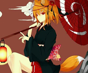 fox, cute, and kagamine rin image