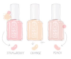 nail polish, nails, and essie image
