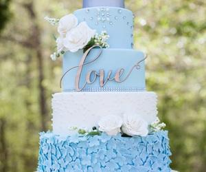wedding cake and food image