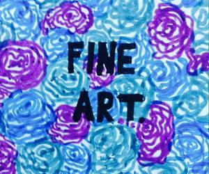 art, black, and fine image