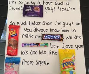 birthday, boyfriend, and candy image