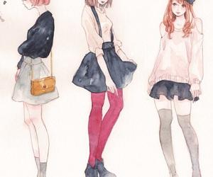 girl, fashion, and kawaii image
