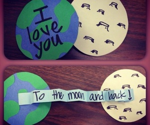 love, diy, and moon image