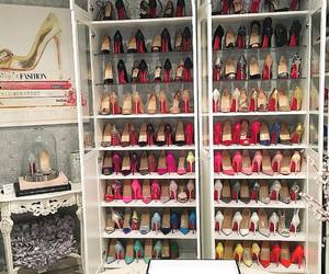 shoes, beauty, and closet image