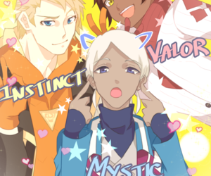 blanche, Spark, and team mystic image
