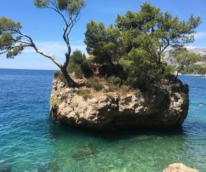 cliff, Croatia, and rock image