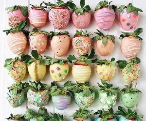strawberry, sweet, and food image