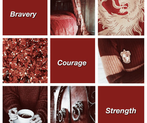 gryffindor and moodboard image