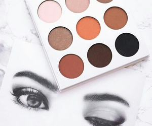 makeup, kylie jenner, and cosmetics image