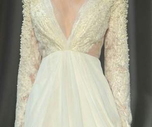 dress, tumblr, and white image
