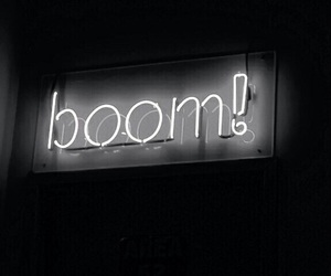 neon, black, and boom image