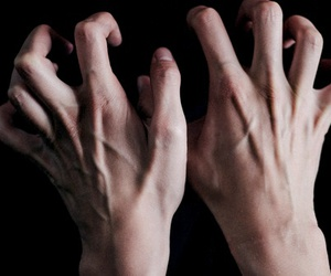 hands, veins, and grunge image