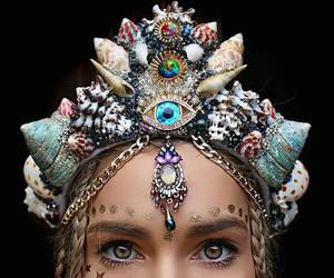 crown and mermaid image