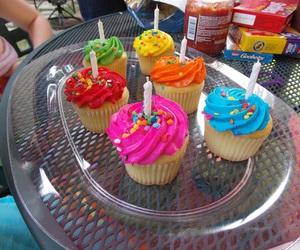 cupcake, food, and tumblr image