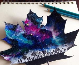 art and galaxy image