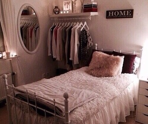 beautiful, bedroom, and pretty image