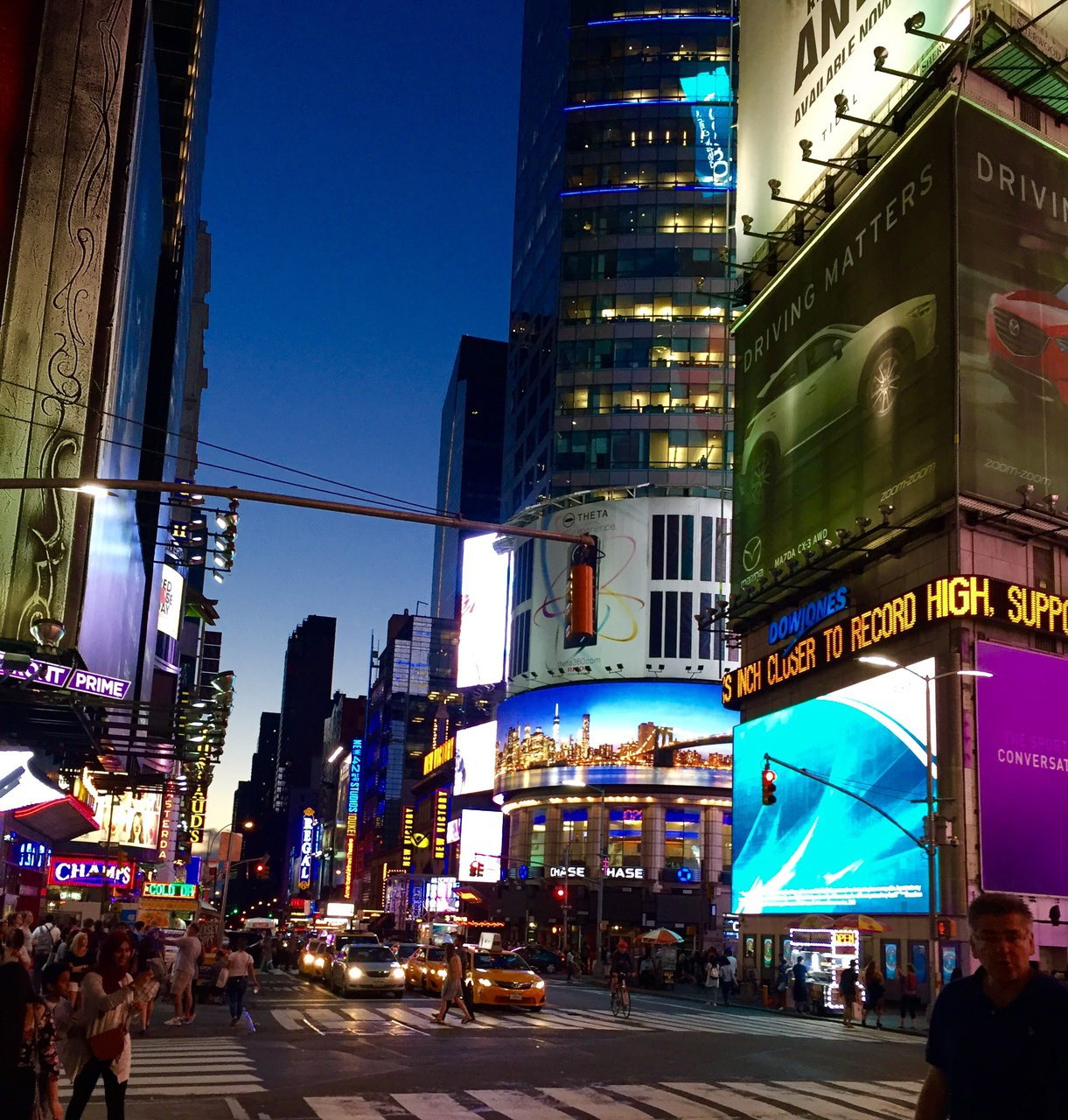 broadway, new york, and times square image