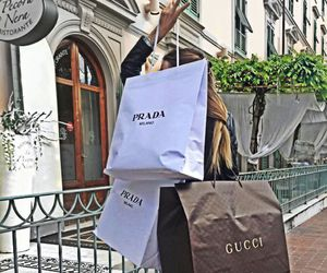 fashion, gucci, and Prada image