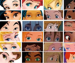 disney, princess, and eyes image