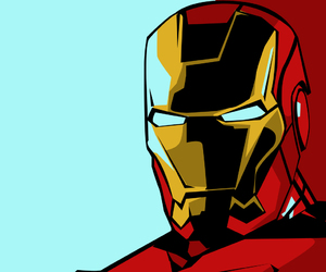 iron man and pop art image