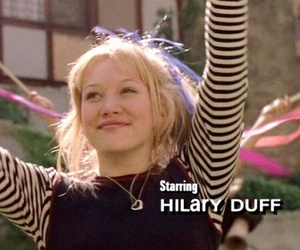 Hilary Duff and movie image