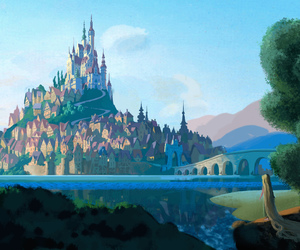 tangled, rapunzel, and castle image