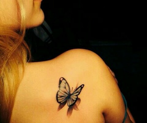 butterfly tattoo image