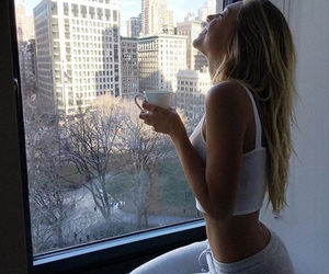 alexis ren, city, and blonde image