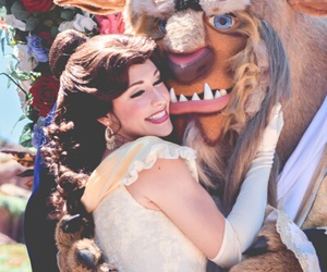 bella, disney, and the beauty and the beast image