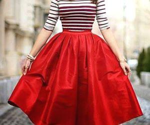 puffy maxi skirt image