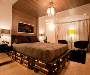 pallet bed ideas, pallet bed plans, and pallet beds image