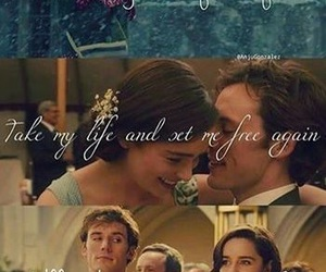 love, me before you, and movie image