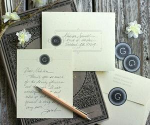 Letter, miss, and envelop image