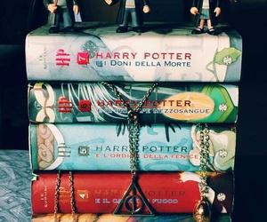 books, childhood, and gryffindor image