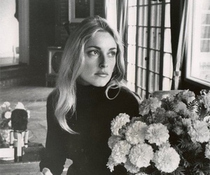 sharon tate, 60s, and black and white image