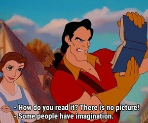 quote, book, and belle image