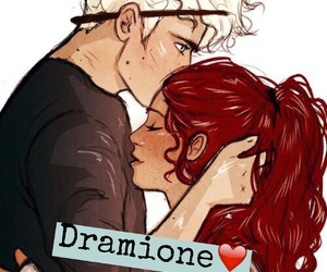 easel and dramione image