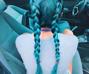 2, hair, and blue image