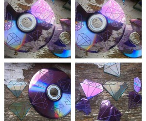 diy, cd, and diamond image