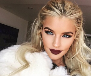 makeup, style, and hair image