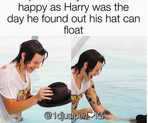 happy and Harry Styles image