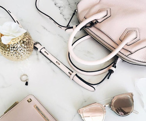 pink, bag, and style image