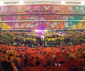 superbowl, coldplay, and love image