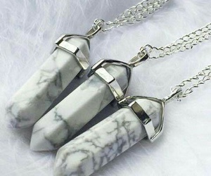 necklace, accessories, and crystal image
