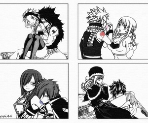 nalu, jerza, and gruvia image