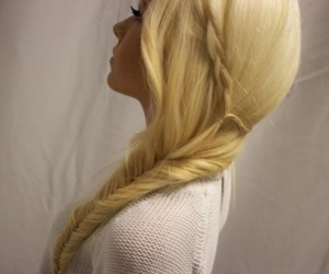 blond, long, and nice image
