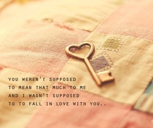 love, key, and quote image